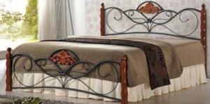 Кованая мебель: идея для спальной кровати | на m-class.info