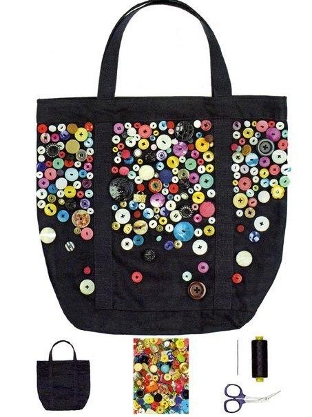 как украсить красиво сумку