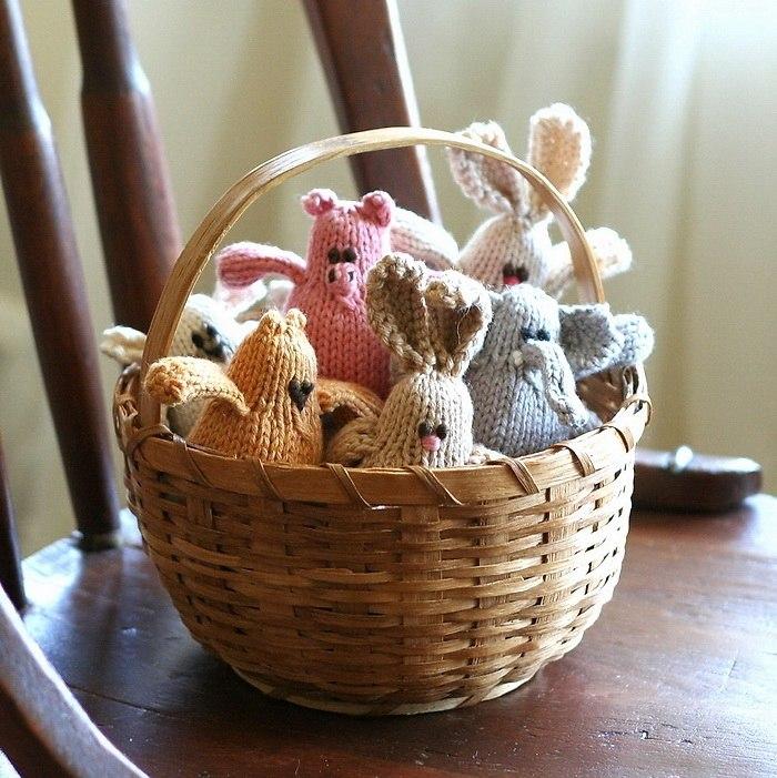 фото вязаных игрушек