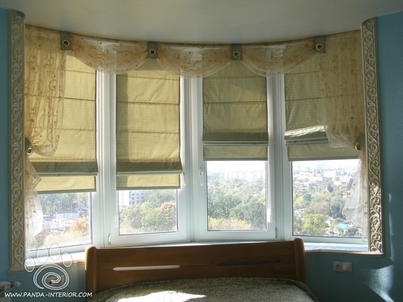 какие шторы выбрать в спальню