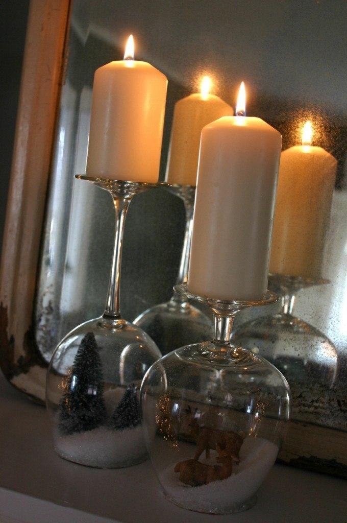 свечи к новому году