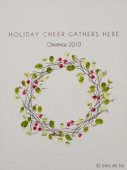 необычные рождественские открытки
