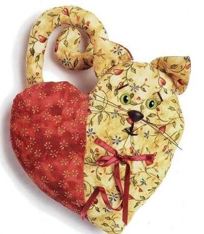 мягкая игрушка сердце своими руками
