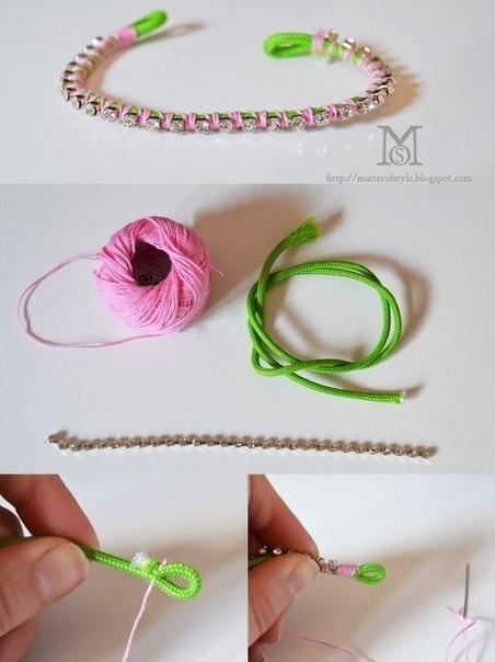 изготовление браслетов своими руками