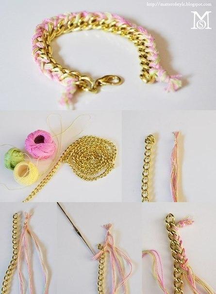 простые и красивые браслеты