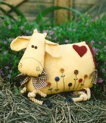 шьем корову