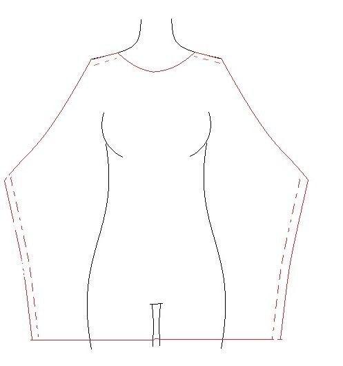 шьем простое летнее платье