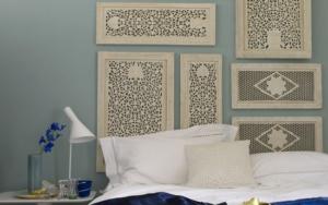 необычные изголовья кровати