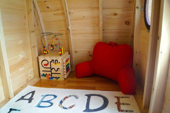 деревянный домик для детей на даче своими руками