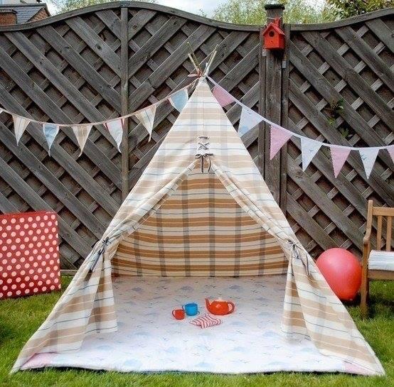 домик шалаш для детей